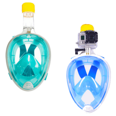 Free easy breath snorkelmask